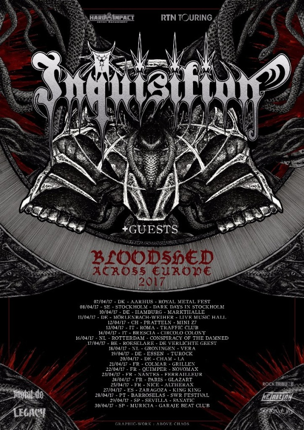 Inquisition tour